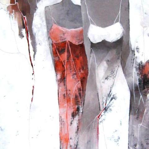 """""""Amiche""""   170 x 70  (sold)"""
