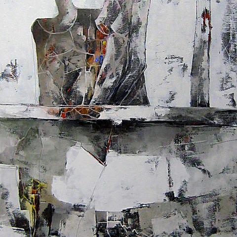 """""""Oltre il Muro""""    170 x 70  (sold)"""