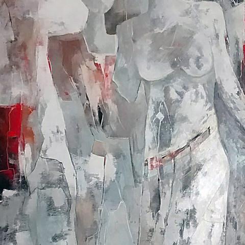 """""""Quello che Resta di Noi""""    170 x 70  (sold)"""